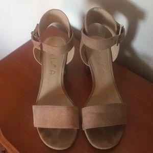 Suede Tan sandals